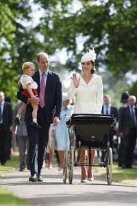 Kate Middleton, le Prince William, le Prince George et la Princesse Charlotte