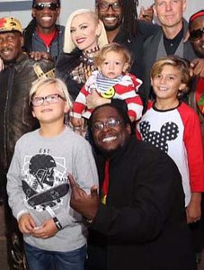 Gwen Stefani et ses trois fils