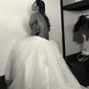 Belén in abiti da sposa