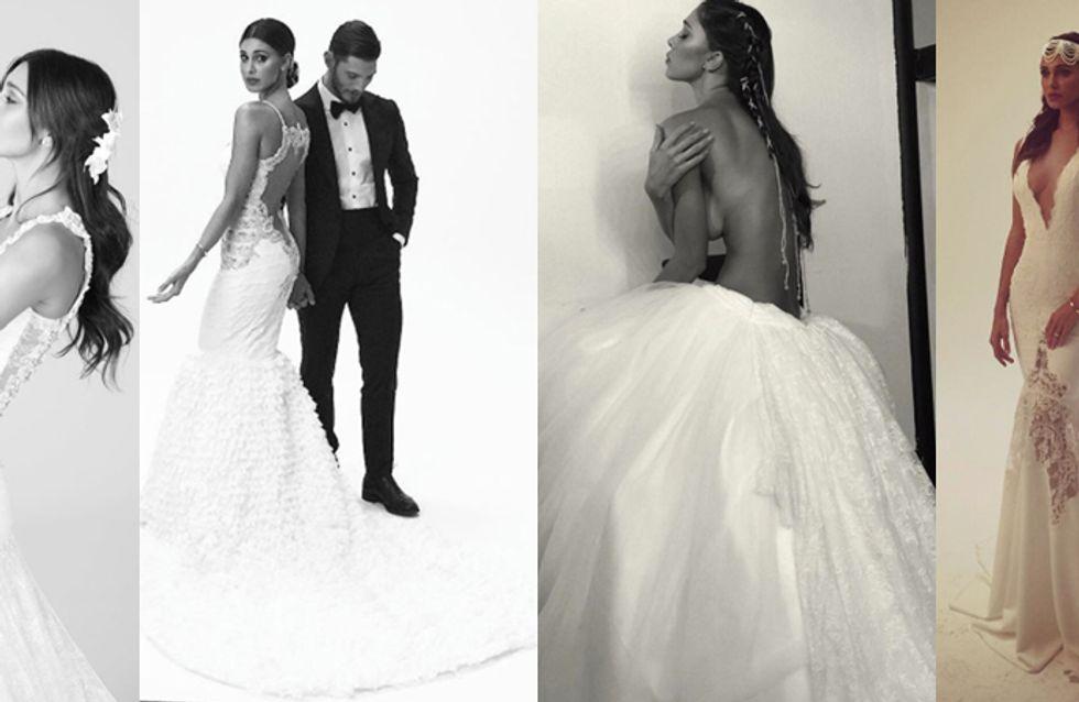 più recente 74091 fa983 Belén, modella di abiti da sposa. Ecco le foto!