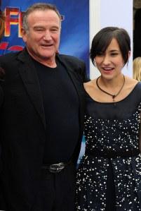 Zelda et Robin Williams
