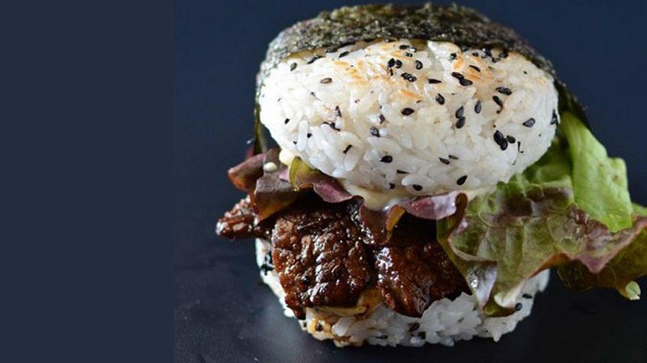 La sushi- hamburguesa, posiblemente el mejor invento culinario de los últimos tiempos