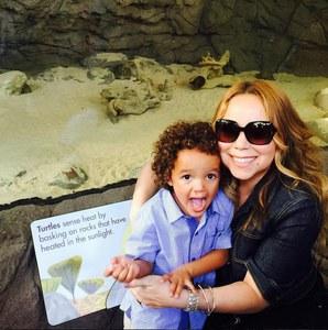 Mariah Carey et Moroccan.