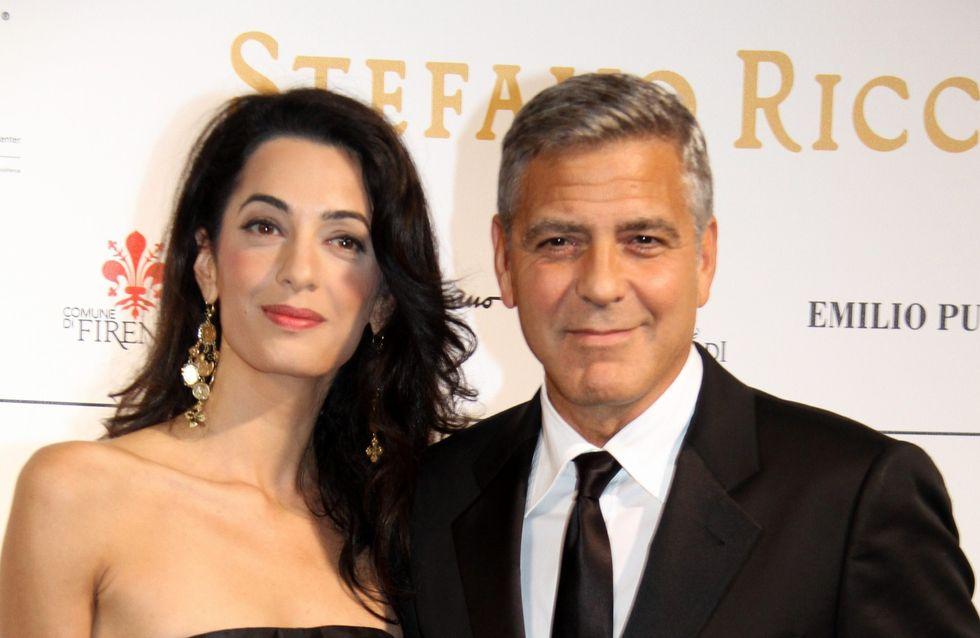 George Clooney ravi d'être la potiche de son épouse Amal