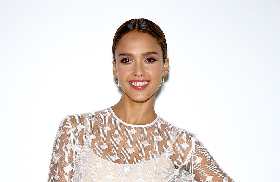 Jessica Alba s'affiche sans maquillage (Photo)