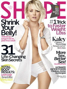 Kaley Cuoco pour Shape Magazine