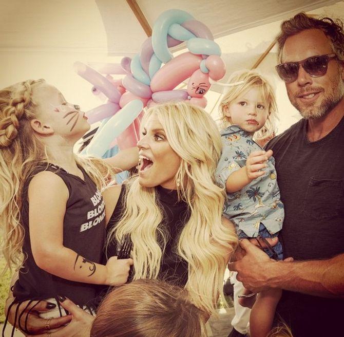 Jessica Simpson et sa famille