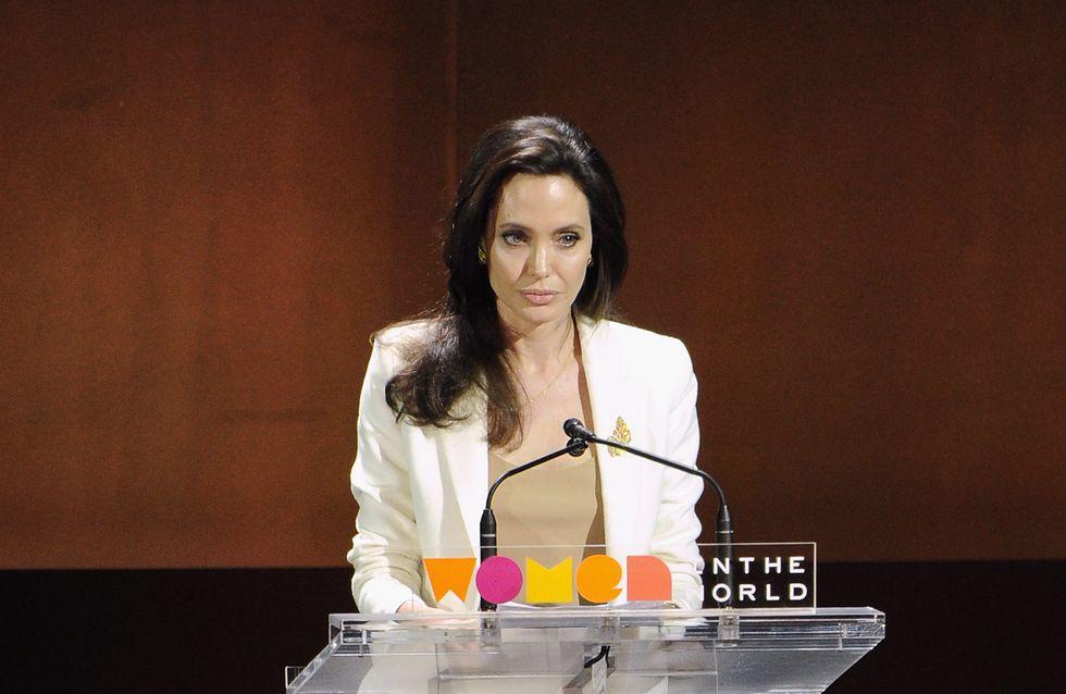Le discours d'Angelina Jolie sur les violences sexuelles perpétrées par Daesh