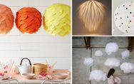 DIY Lampe: 5 simple Tricks, wie du eine Ikea-Lampe in ein Designerstück verwande