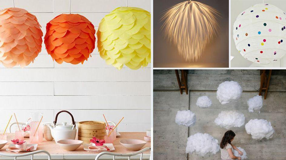 DIY Lampe: 5 simple Tricks, wie du eine Ikea-Lampe in ein Designerstück verwandelst