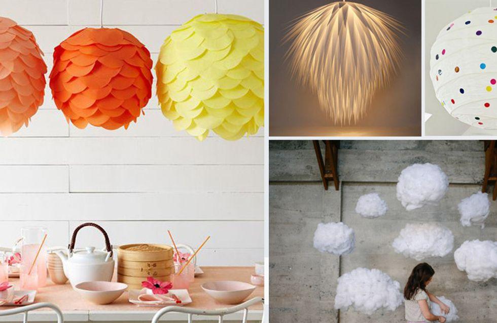 Diy Lampe So Entsteht Aus Einer Ikea Lampe Ein Cooles Design Objekt