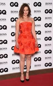 Emilia Clarke aux GQ men of the year awards 2015