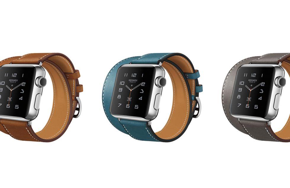 El nuevo Apple Watch tiene correas de piel de Hermès