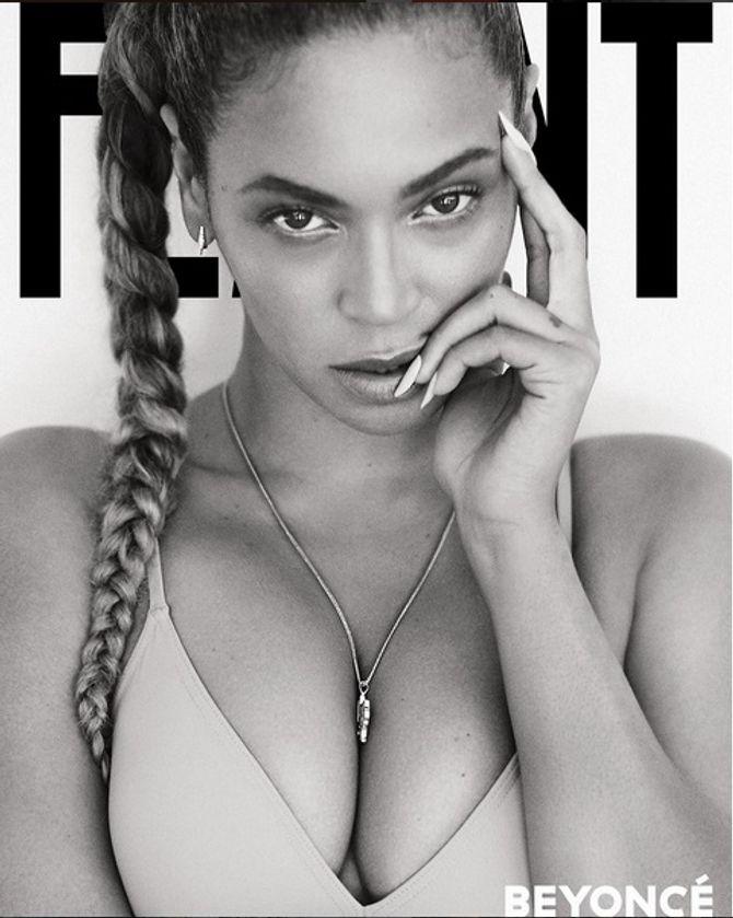 Beyoncé en couverture de Flaunt magazine