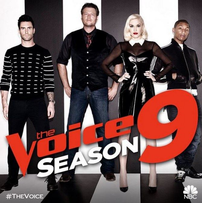 Gwen Stefani et Blake Shelton, coachs de The Voice USA saison 9