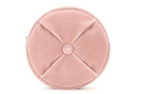 Pochette rotonda rosa; Charlotte Olympia