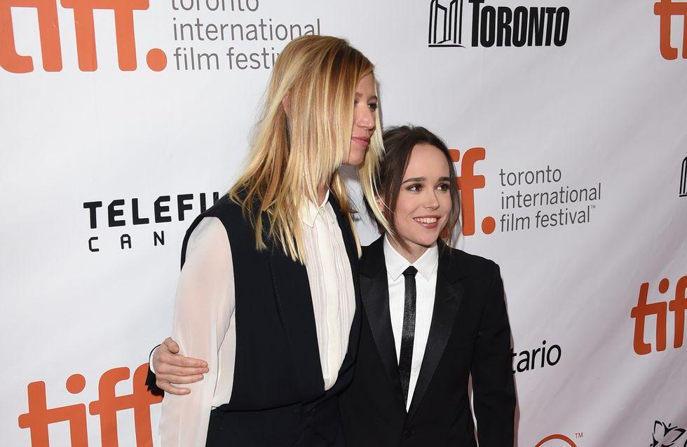 Ellen Page présente sa petite-amie sur le tapis rouge du TIFF (Photos)