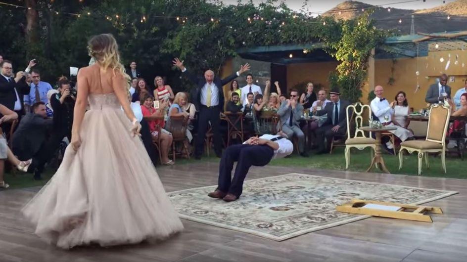Das müsst ihr gesehen haben: Bei diesem Hochzeitstanz ist garantiert Magie am Werk