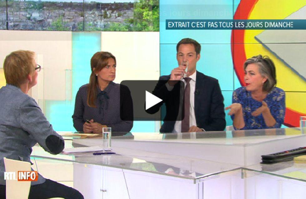 """Débat mouvementé sur les migrants dans """"C'est pas tous les jours dimanche"""" sur RTL TVI"""