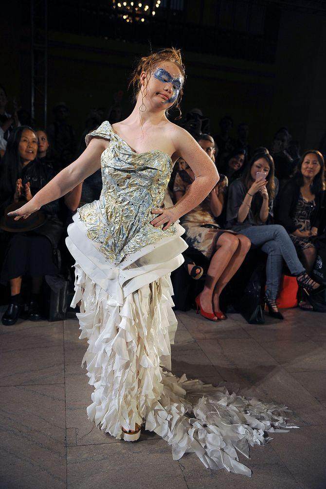 Madeline Stuart à la Fashion Week de New-York