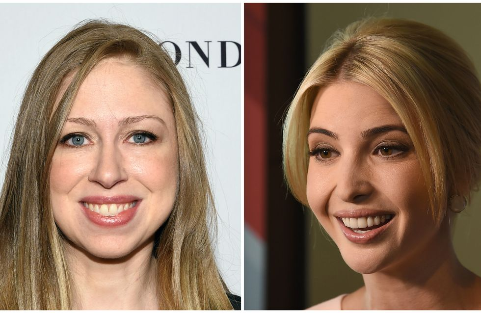 Les filles de Donald Trump et Hillary Clinton meilleures amies ?