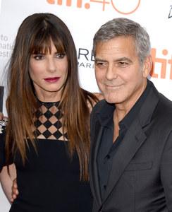 Sandra Bullock et George Clooney