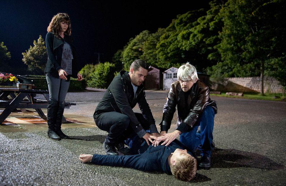 Emmerdale 25/09 - Lawrence confronts Robert