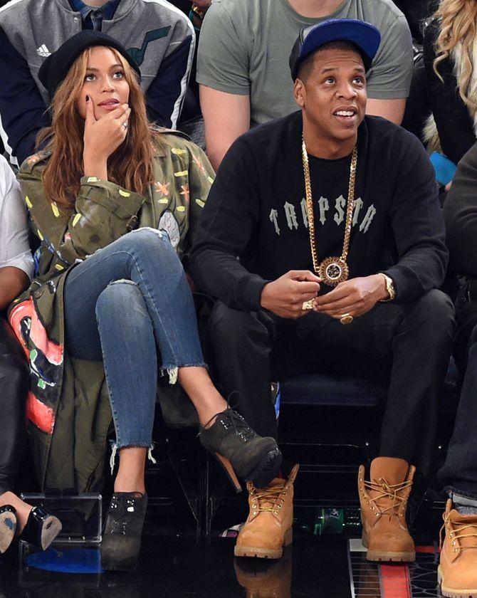 Beyoncé et Jay Z