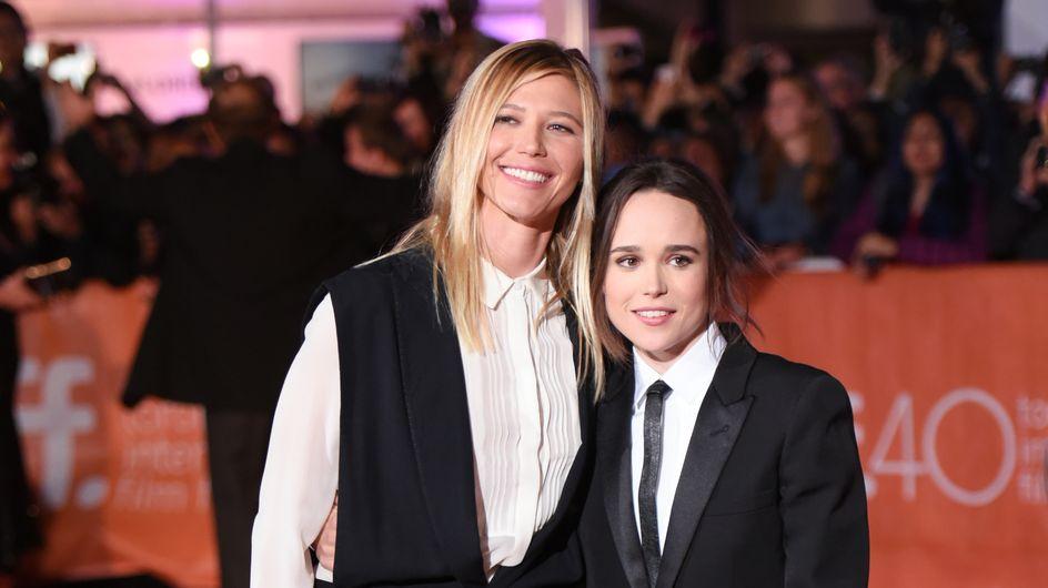 Así es Samantha Thomas, la recién estrenada novia de Ellen Page