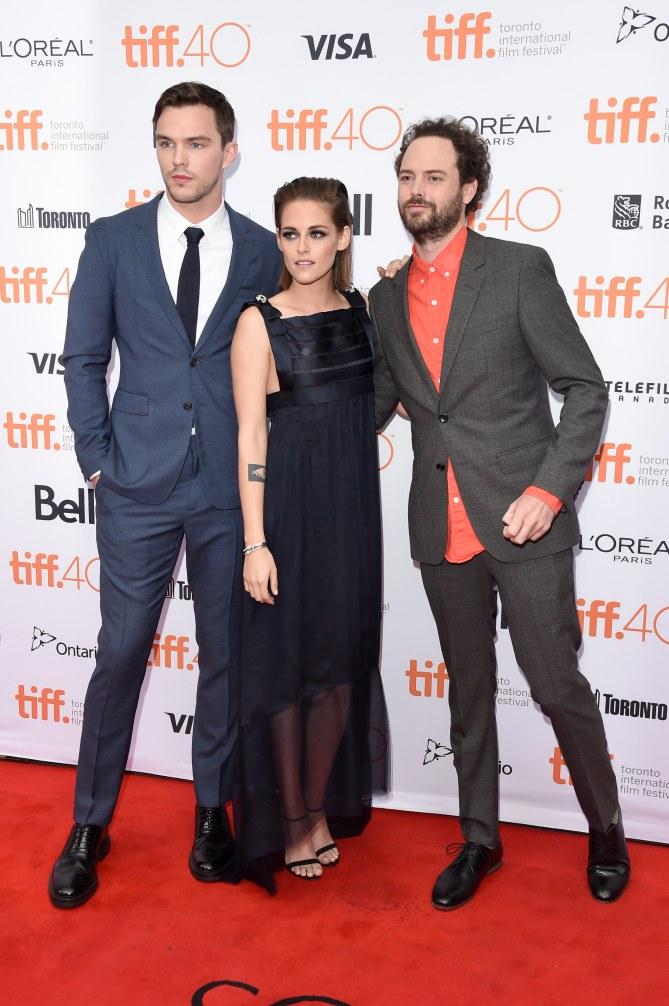 Kristen Stewart Nicholas Hoult et le réalisateur Drake Doremus