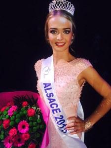 Miss Alsace 2015 (Laura Muller)