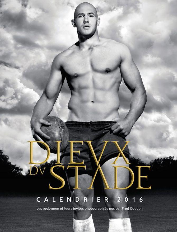 Sergio Parisse en couverture du calendrier des Dieux du Stade