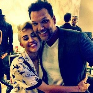 Miley Cyrus et Dane Cook