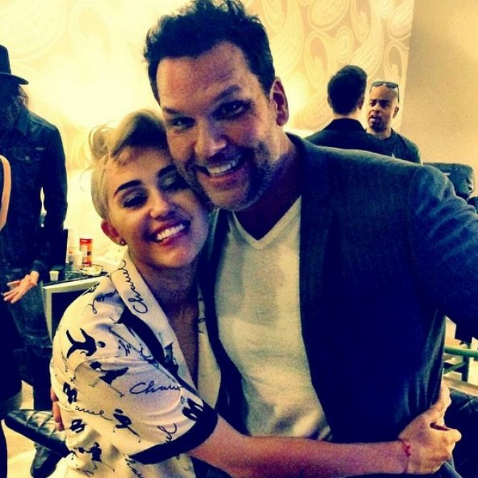Miley Cyrus et Dane Cook