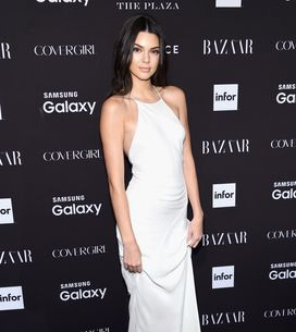 Kendall Jenner dévoile son étonnant piercing pendant la Fashion Week (Photos)