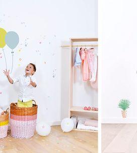 10 stickers vraiment cools pour décorer une chambre d'enfant