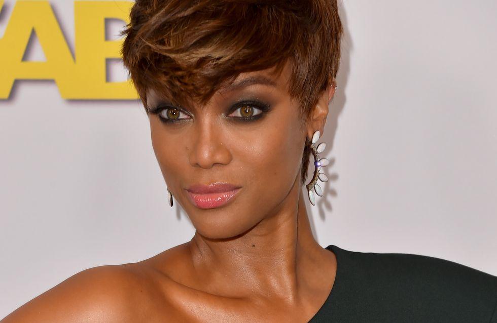 L'avant/après maquillage bluffant de Tyra Banks (Photo)