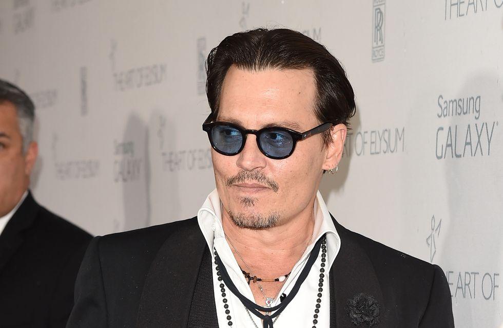 """Johnny Depp : """"Si quelqu'un harcèle mes enfants, je voudrais le détruire"""""""