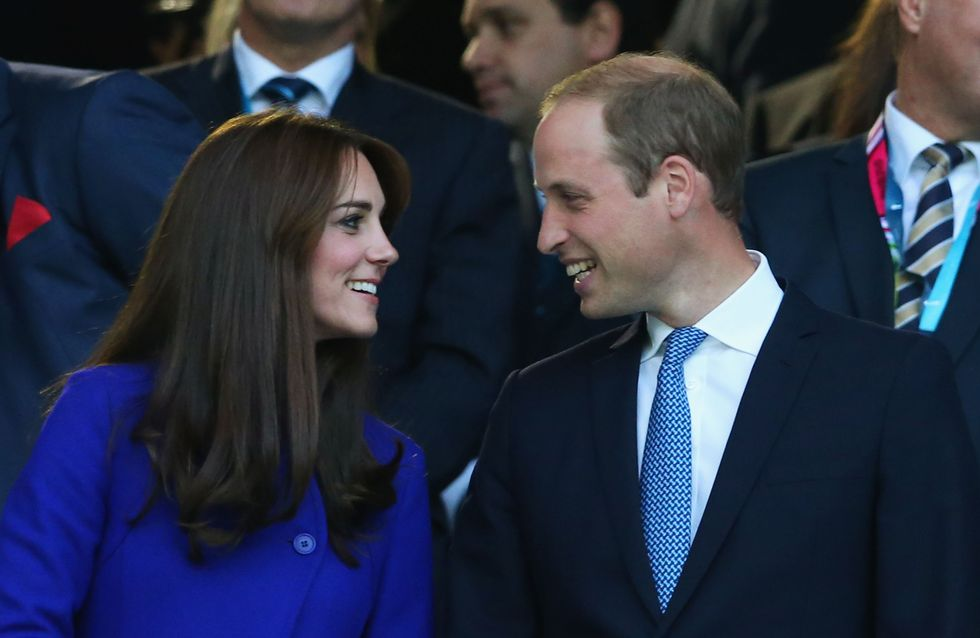 Kate Middleton royale et amoureuse au match d'ouverture de la Coupe du Monde de rugby (Photos)