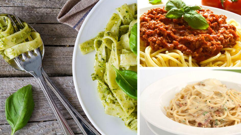 Die besten Nudelsoßen der Welt! Leckere Rezepte für Bolognese, Carbonara & Co.