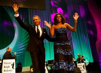 Barack et Michelle Obama au Congressional Black Caucus Congress