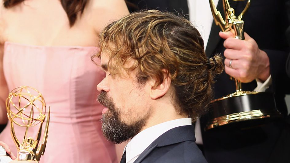 So Are We Going To Talk About Peter Dinklage's Man Bun?