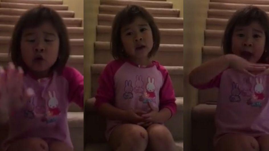 This Little Girl Asking Her Parents To Be Friends Again Is REALLY Cute
