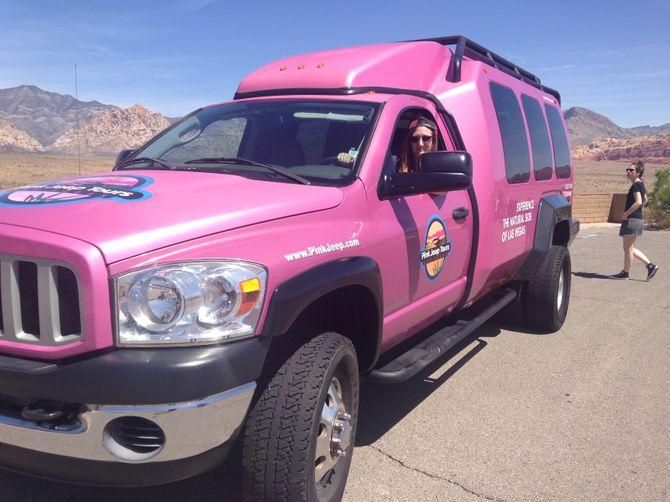 Pink Jeep Tour à Las Vegas