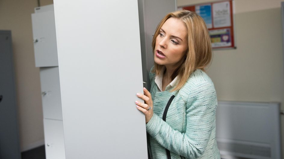 Hollyoaks 1/10 - Tegan finds out that Celine has been writing to Cameron