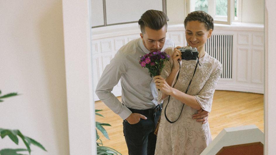 Diese Braut fotografiert ihre eigene Hochzeit & die Ergebnisse sind atemberaubend!