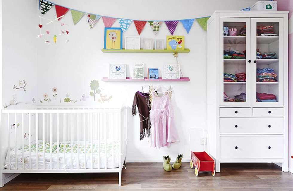 Habitaciones infantiles blancas: una apuesta segura para decorar su pequeño mundo