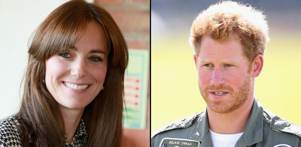 Kate Middleton - Le prince Harry
