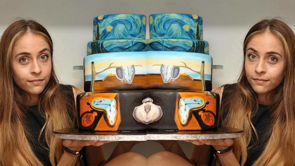 This Talented Artist Recreates Famous Paintings On Cakes And It's Amazing