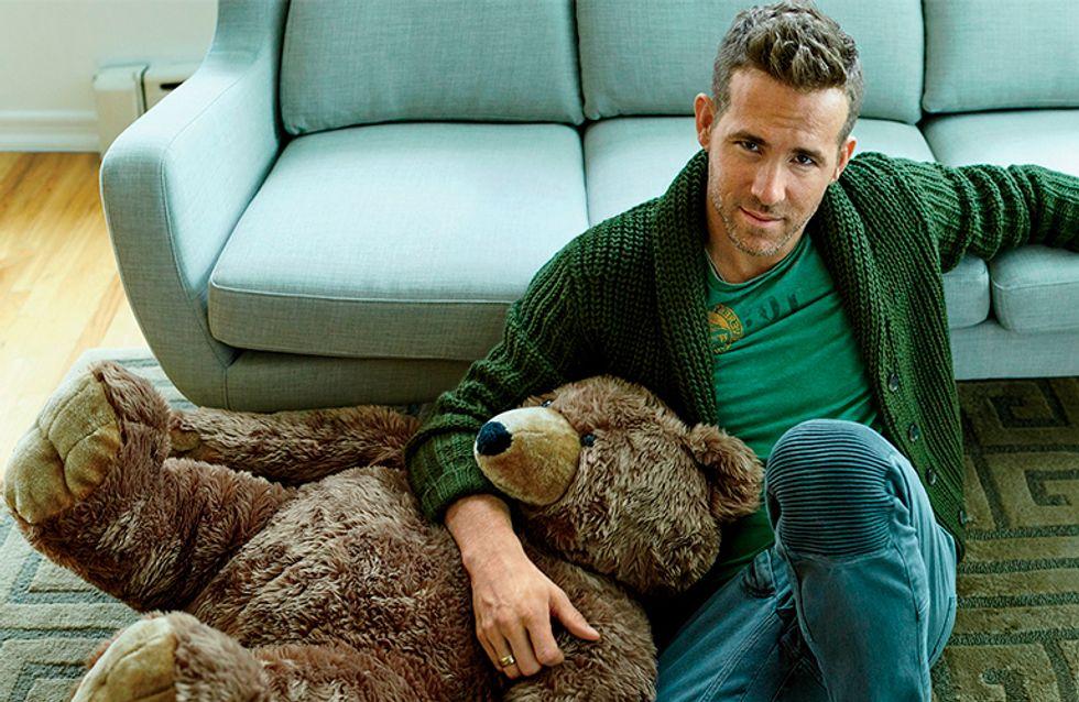 Ryan Reynolds revela tudo que você sempre quis saber sobre a paternidade